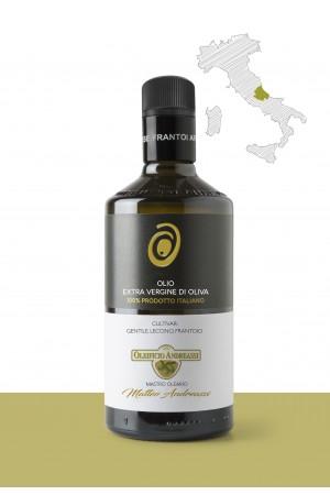 """Olio extravergine di oliva  <b>""""GENTILE, LECCINO, FRANTOIO""""</b> PRODUTTORE: <b>OLEIFICIO ANDREASSI SRL</b> REGIONE: <b>Abruzzo</b>"""