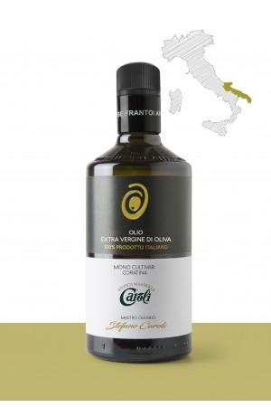 "Olio extravergine di oliva <b>""CORATINA""</b> – PRODUTTORE: <b>PUGLIA ALIMENTARE SRL</b> REGIONE: <b>Puglia</b>"