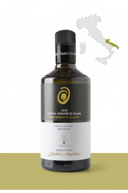 "Olio extravergine di oliva  <b>""PERANZANA""</b> – PRODUTTORE: <b>GRACO</b> REGIONE: <b>Puglia</b>"